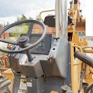 foto trencher / 4,6 t Bagger Case 660